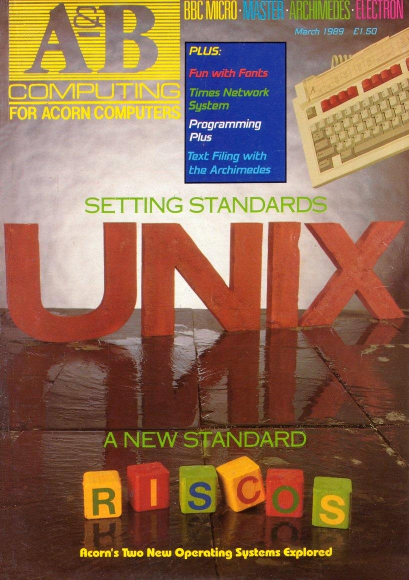 A&B Computing Vol.6 No.03 (March 1989)