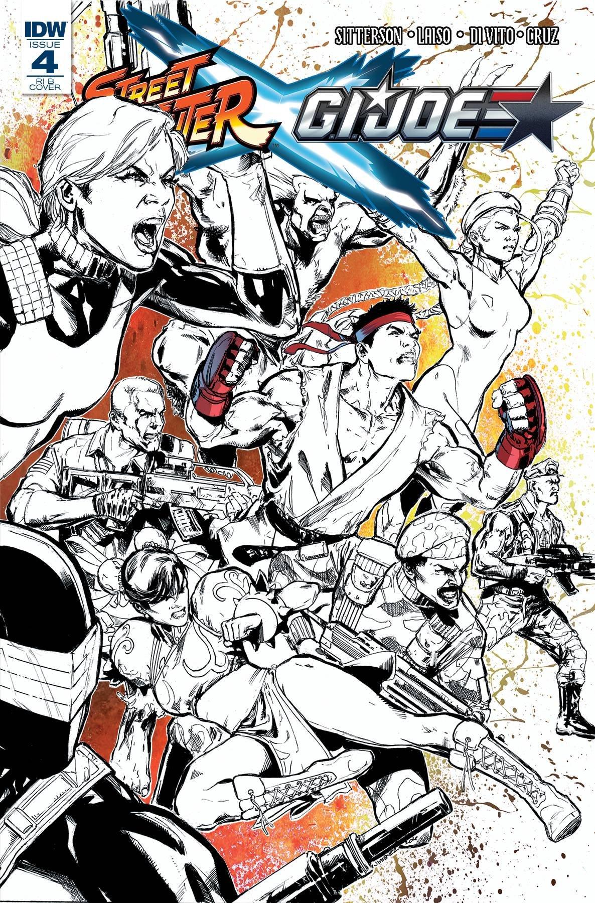 Street Fighter X G.I. JOE 004 (May 2016) (Retailer Incentive B)