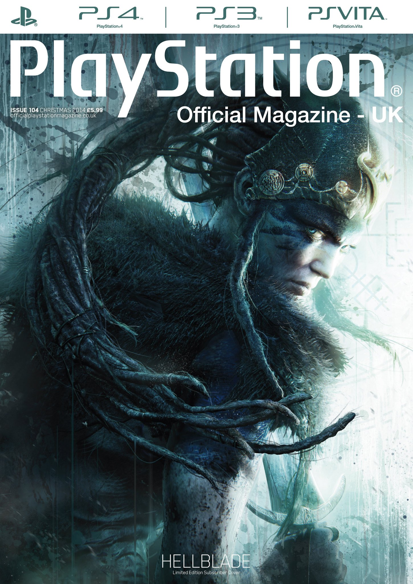Playstation Official Magazine UK 104 (Christmas 2014) (subscriber edition)