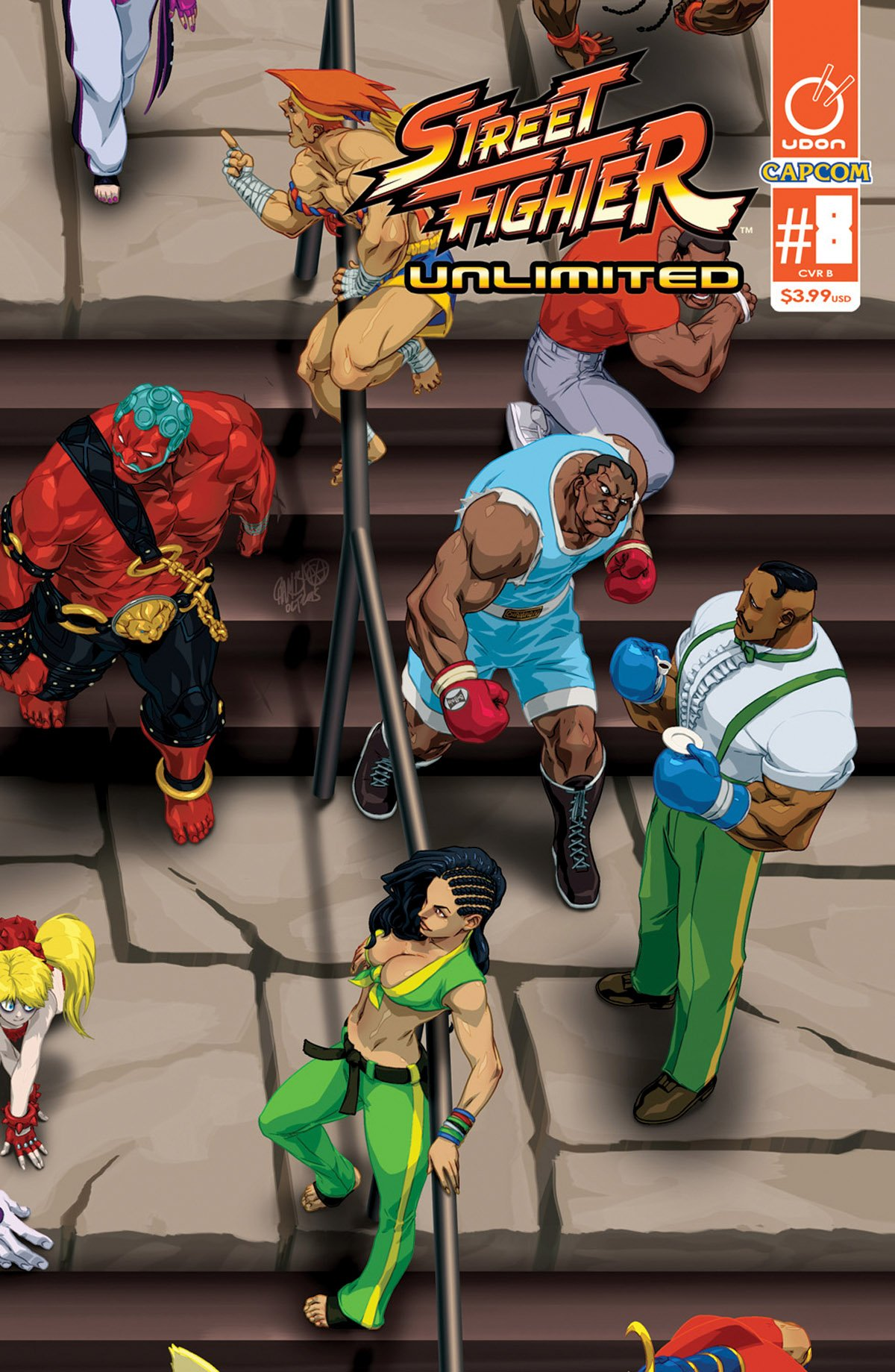Street Fighter Unlimited 008 (July 2016) (cover B)
