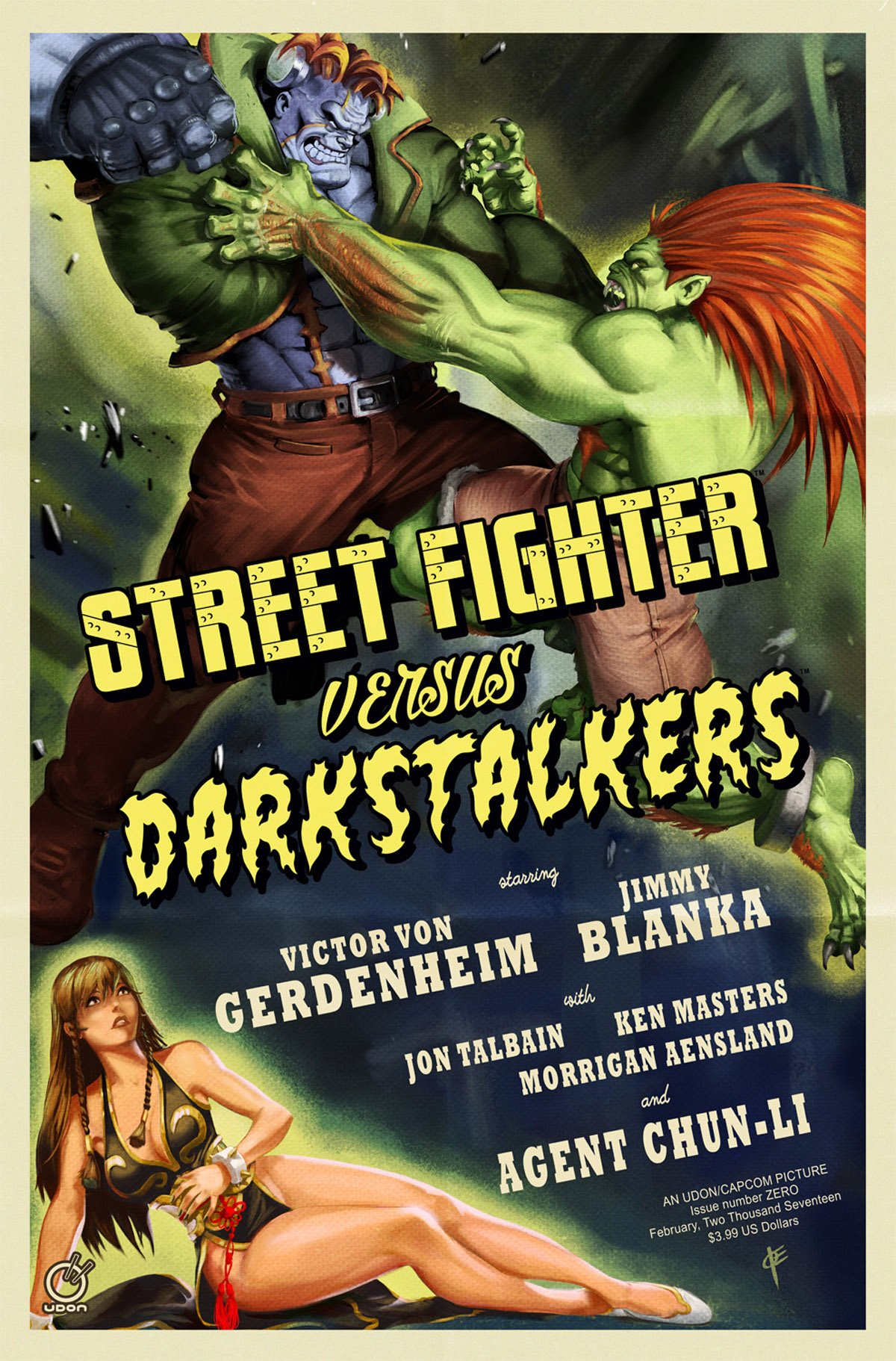 Street Fighter VS Darkstalkers 000 (February 2017) (Cover C)
