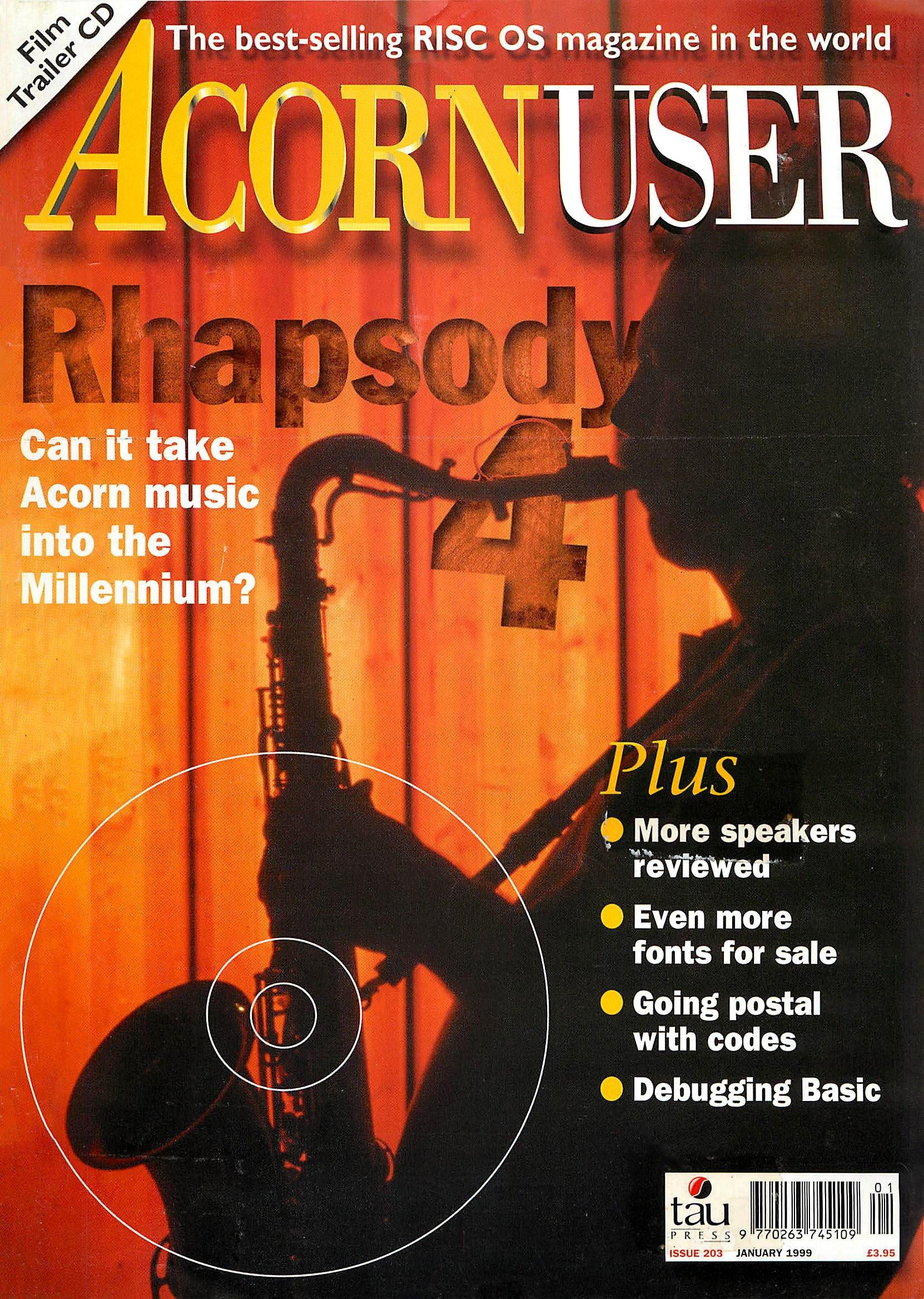 Acorn User 203 (January 1999)
