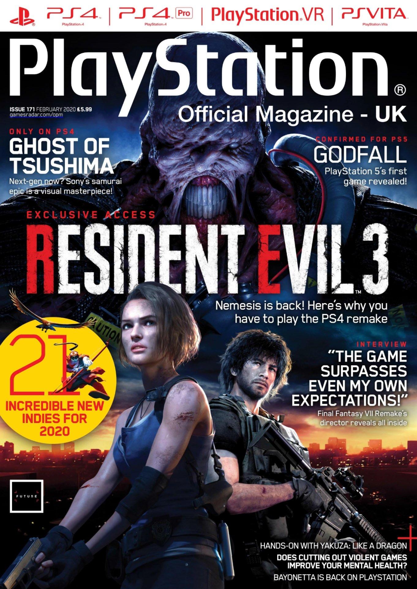 Playstation Official Magazine UK 171 (February 2020)