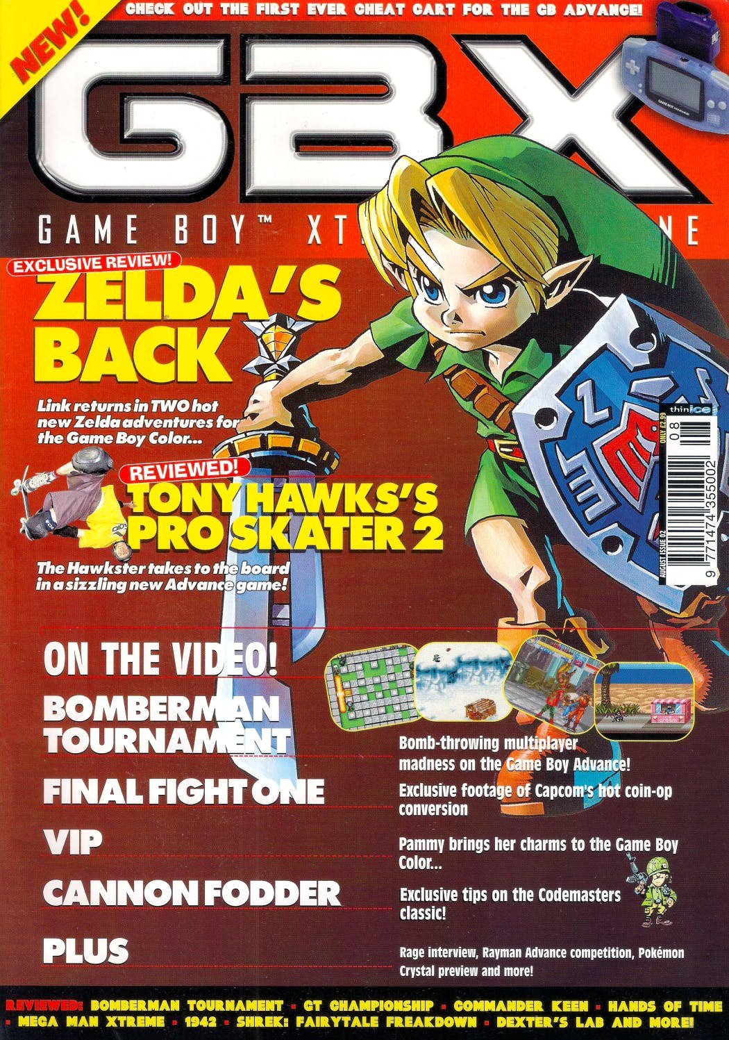 GBX Issue 02 (August 2001)