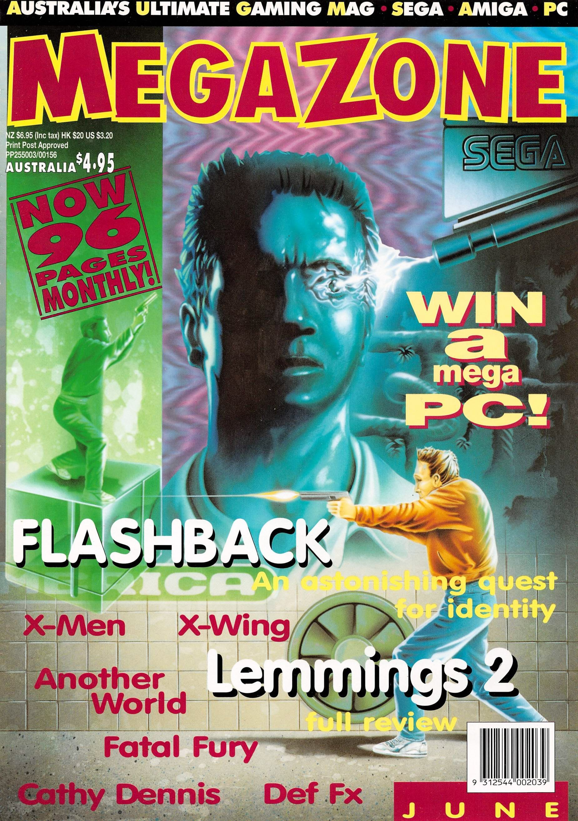 MegaZone 28 (June 1993)