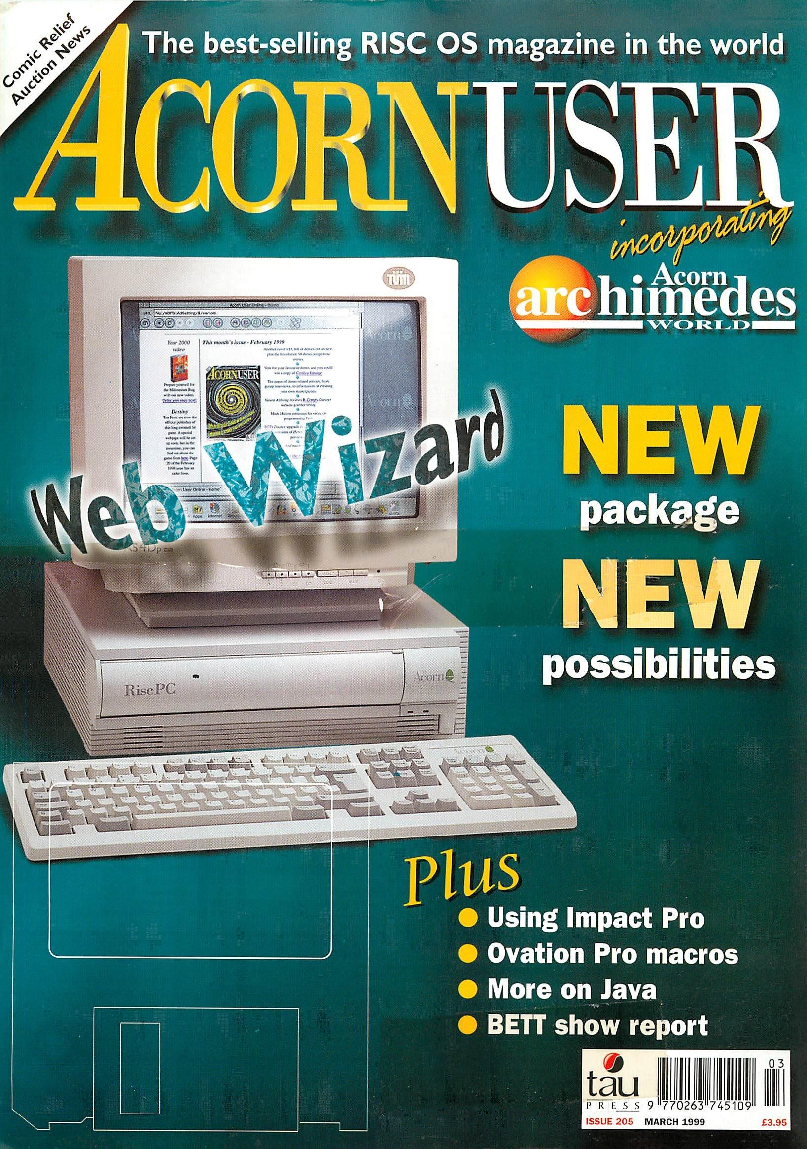 Acorn User 205 (March 1999)