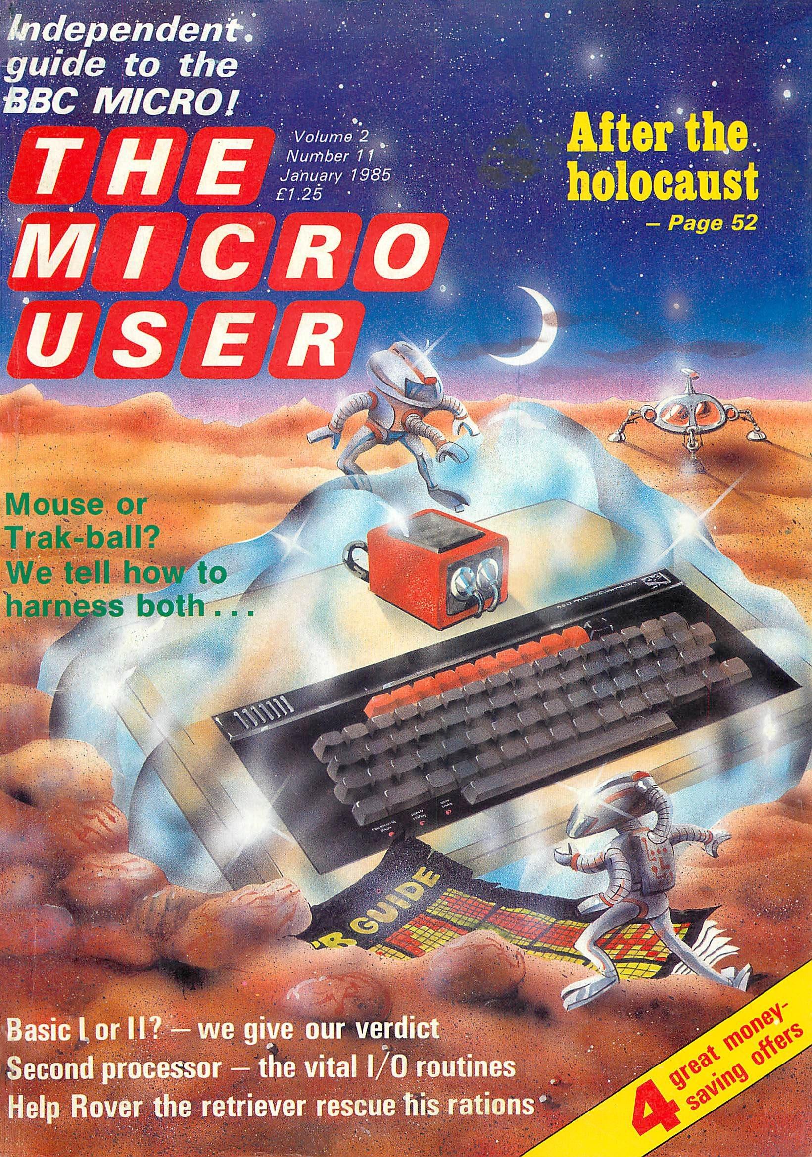 The Micro User Vol.02 No.11 (January 1985)