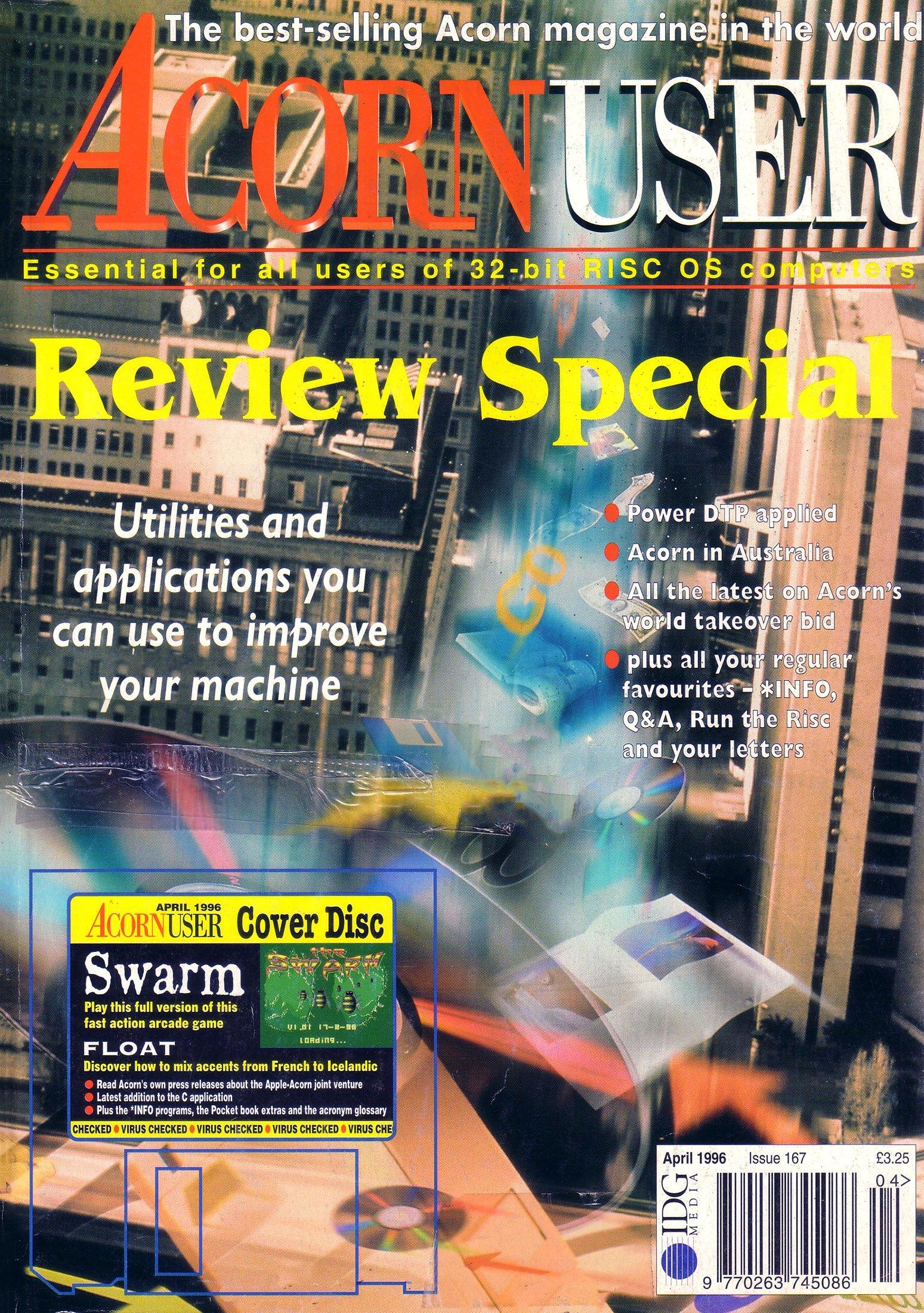 Acorn User 167 (April 1996)