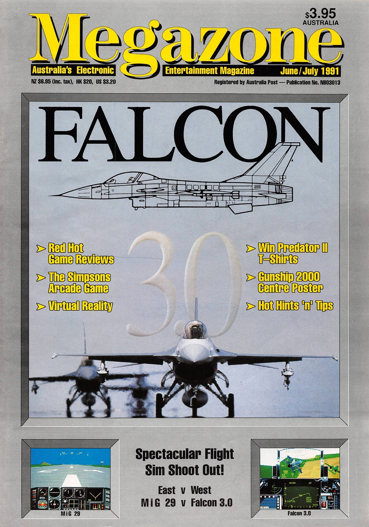 MegaZone 16 (June / July 1991)