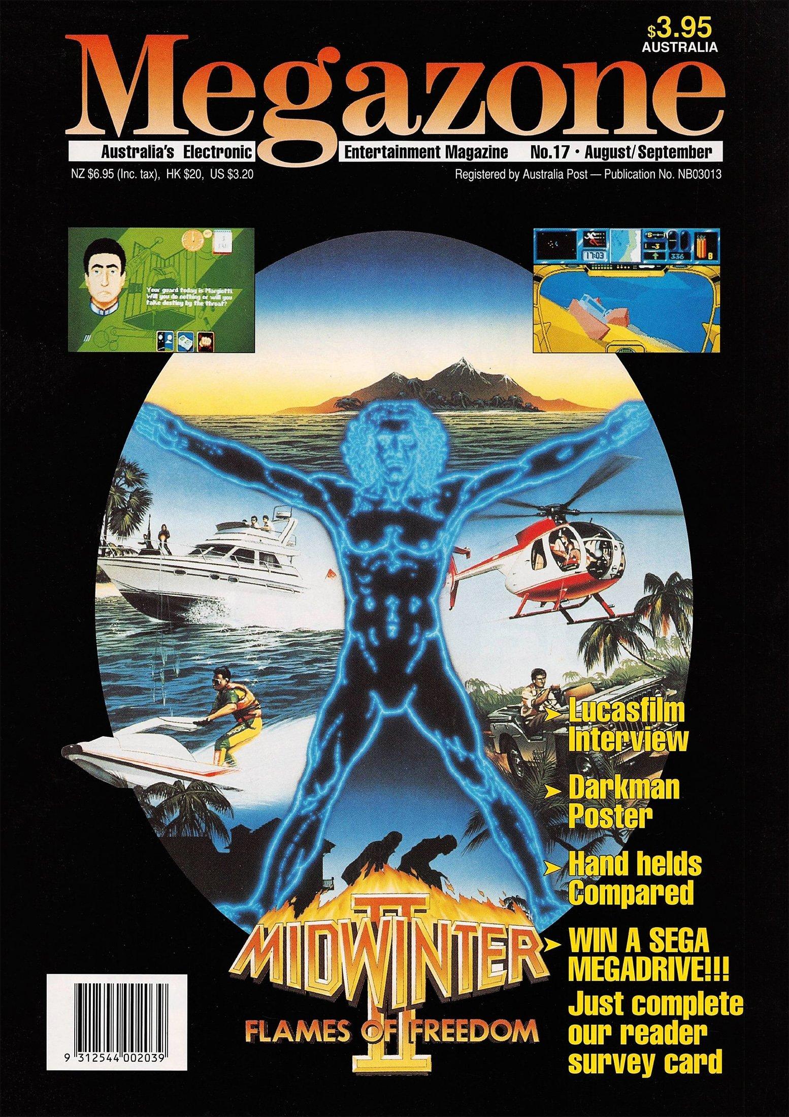 MegaZone 17 (August / September 1991)