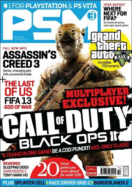 PSM3 Issue 157 (October 2012)