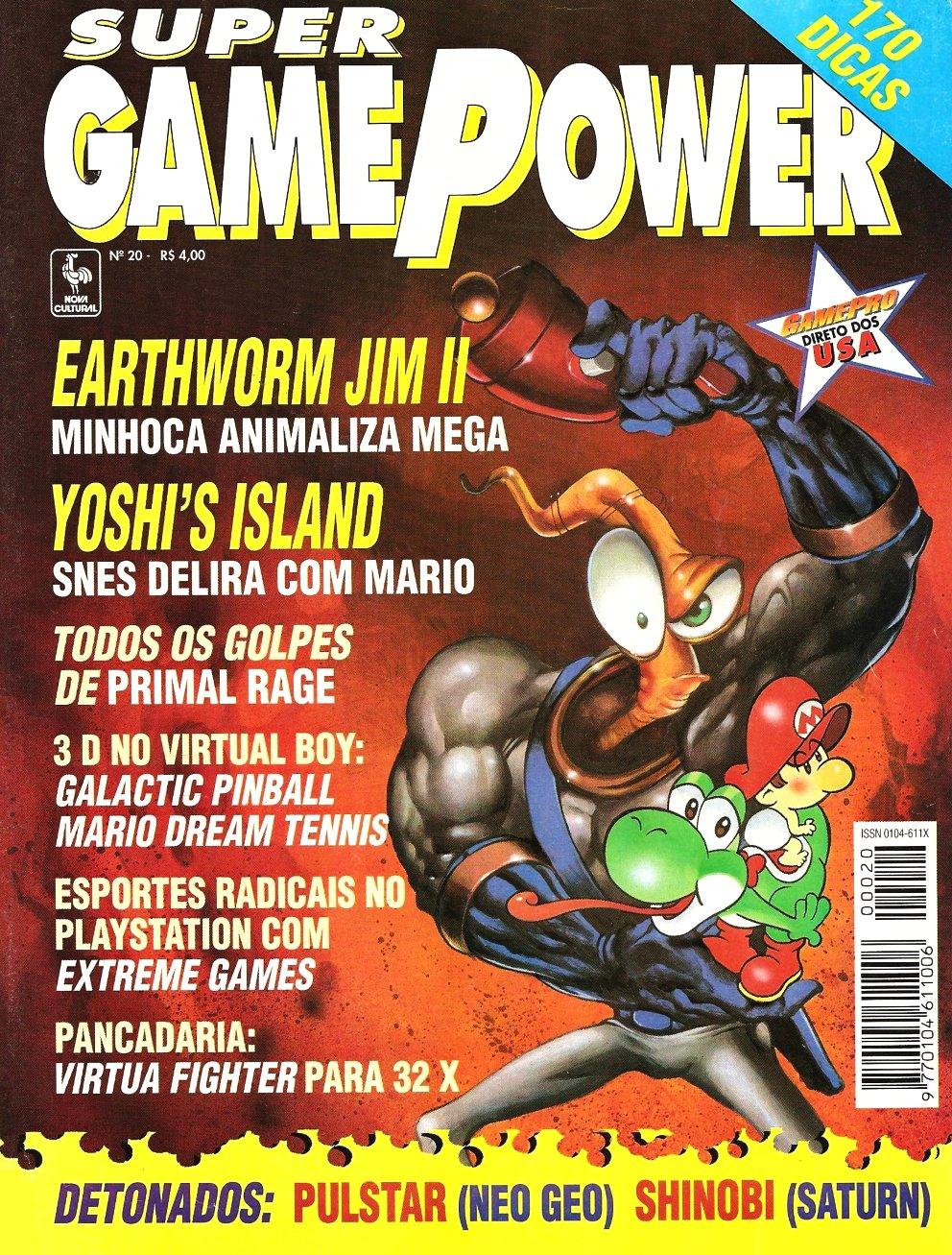 SuperGamePower Issue 020 (November 1995)