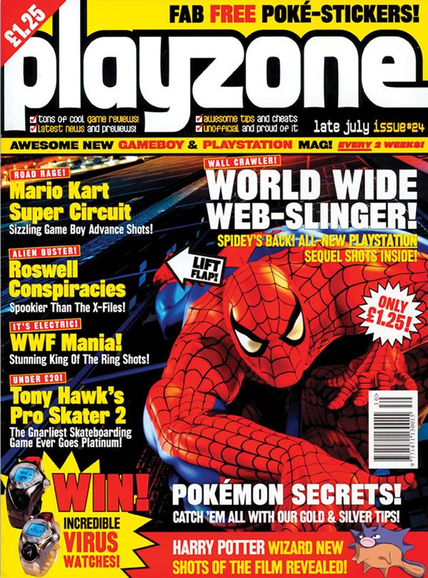Playzone Issue 24 (July 2001)