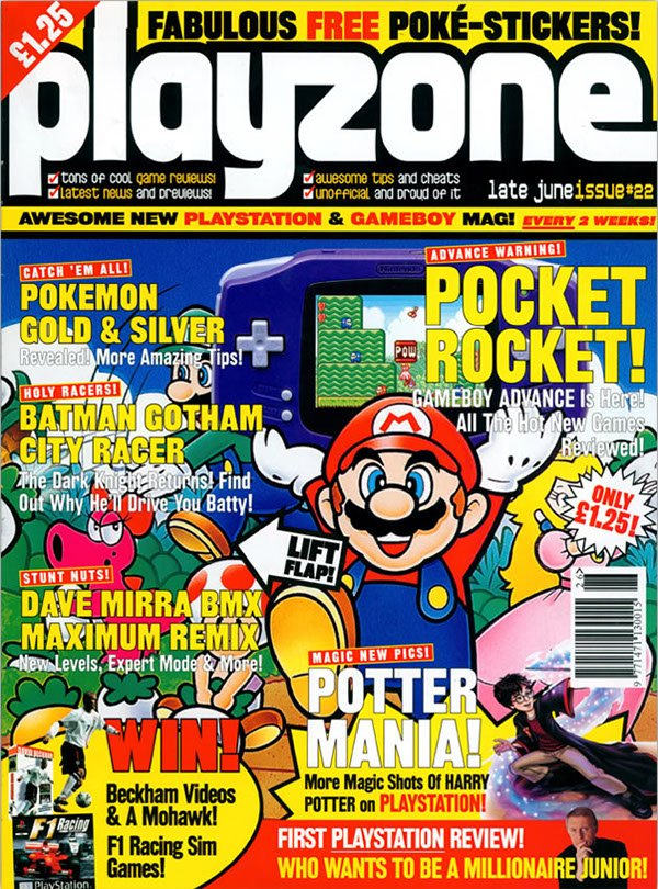 Playzone Issue 22 (June 2001)
