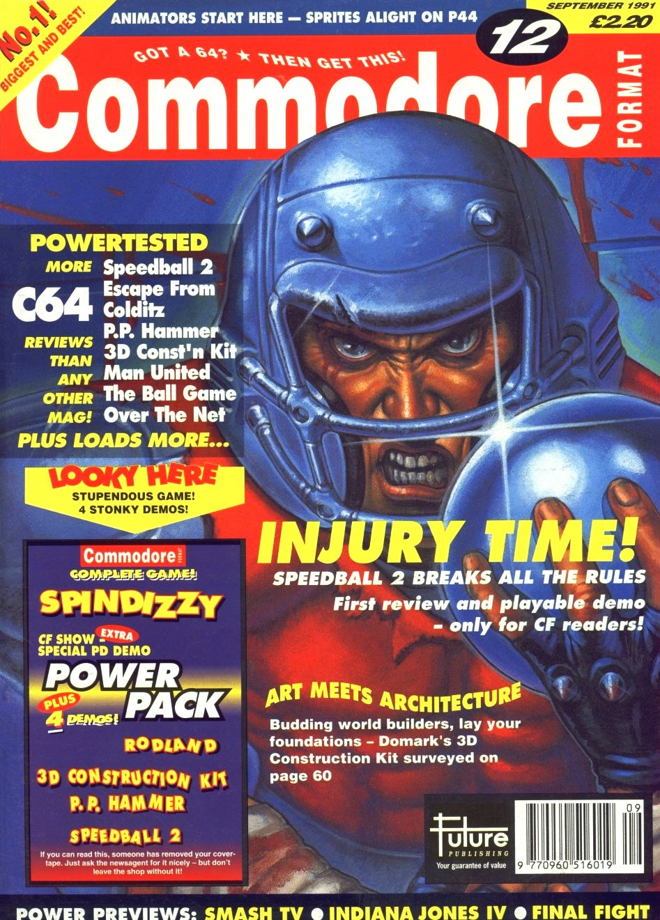 Commodore Format Issue 12 (September 1991)