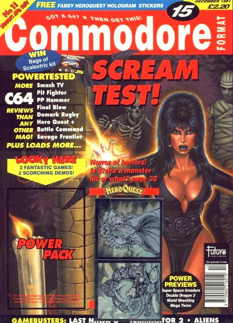Commodore Format Issue 15 (December 1991)