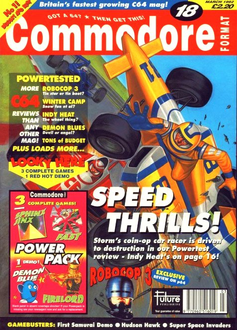 Commodore Format Issue 18 (March 1992)