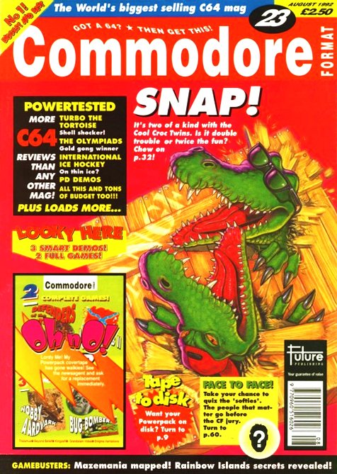 Commodore Format Issue 23 (August 1992)