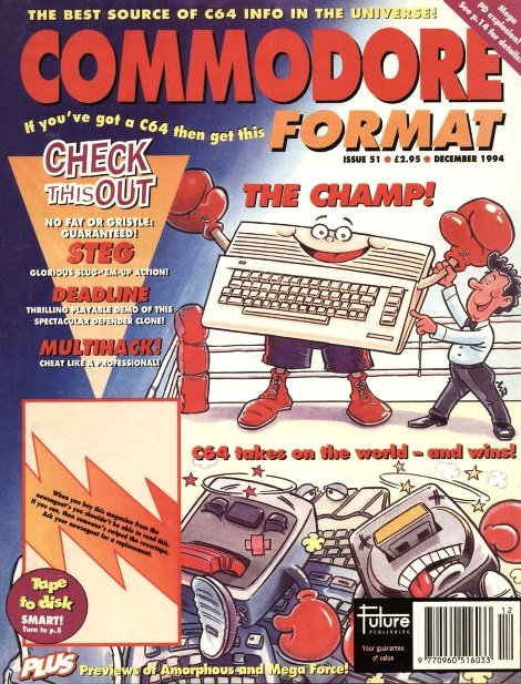 Commodore Format Issue 51 (December 1994)