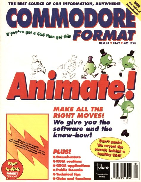 Commodore Format Issue 56 (May 1995)