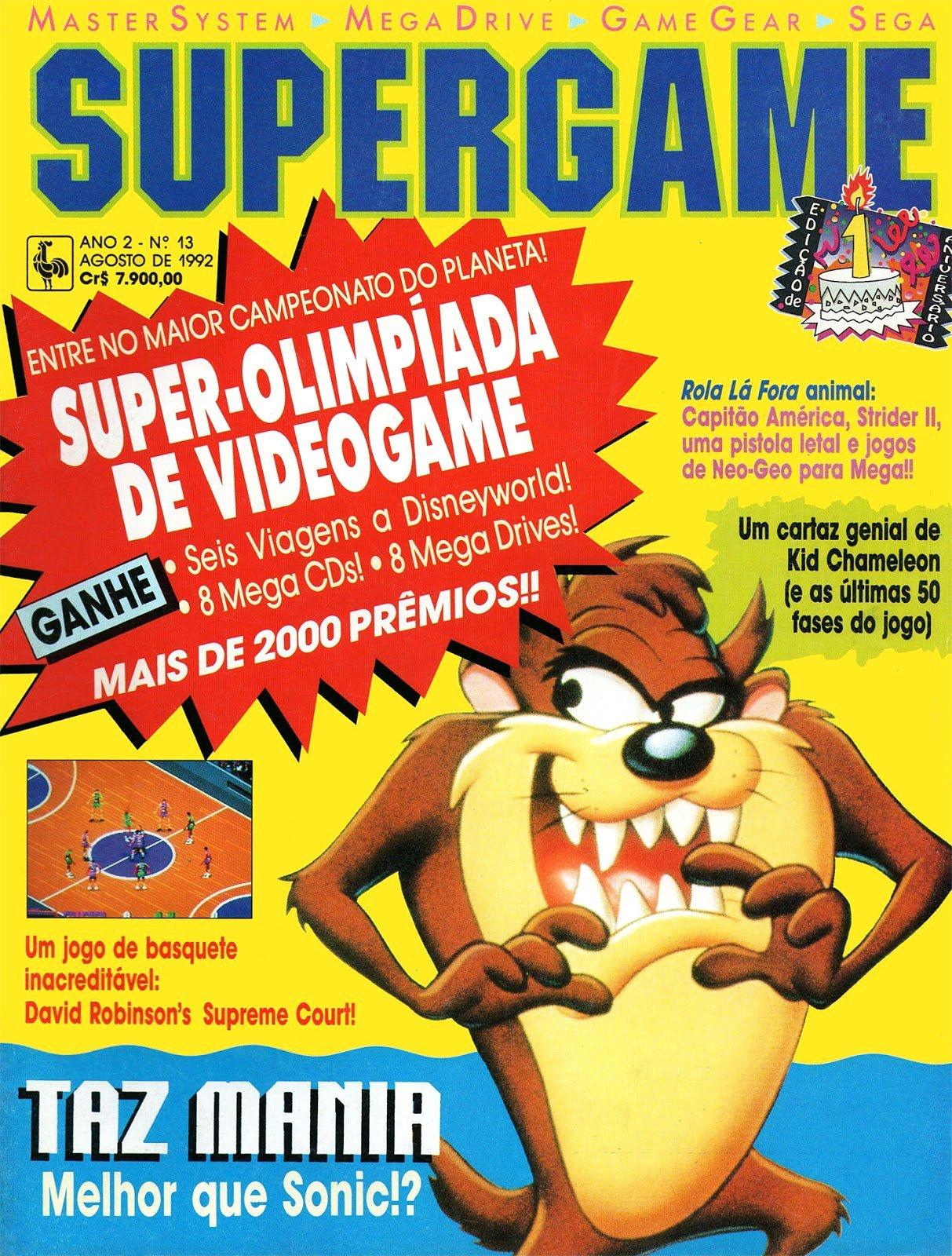 SuperGame 13 (August 1992)