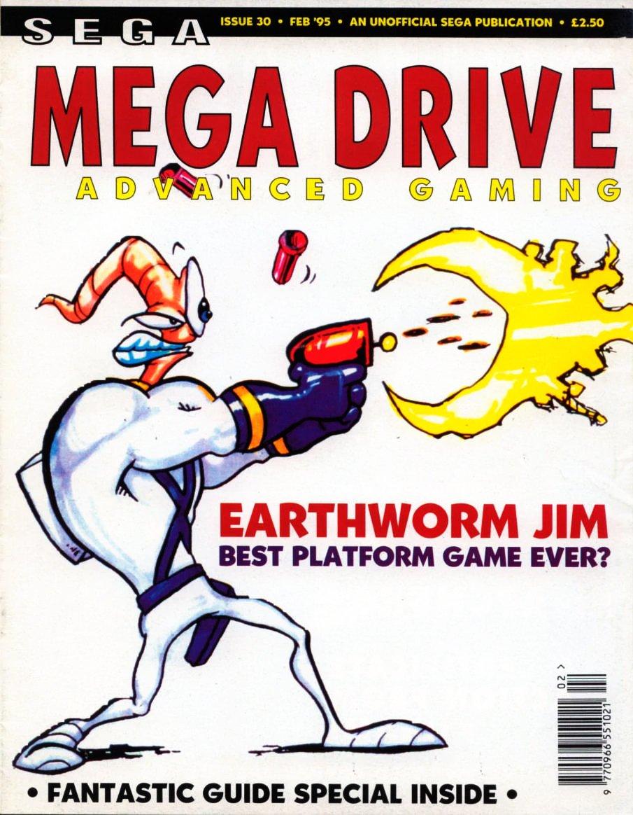 Mega Drive Advanced Gaming 30 (February 1995)