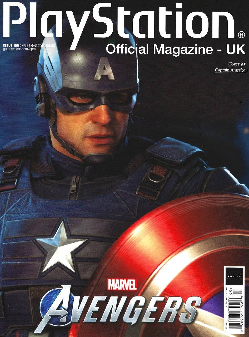 Playstation Official Magazine UK 169 (Xmas 2019) *cover 5*