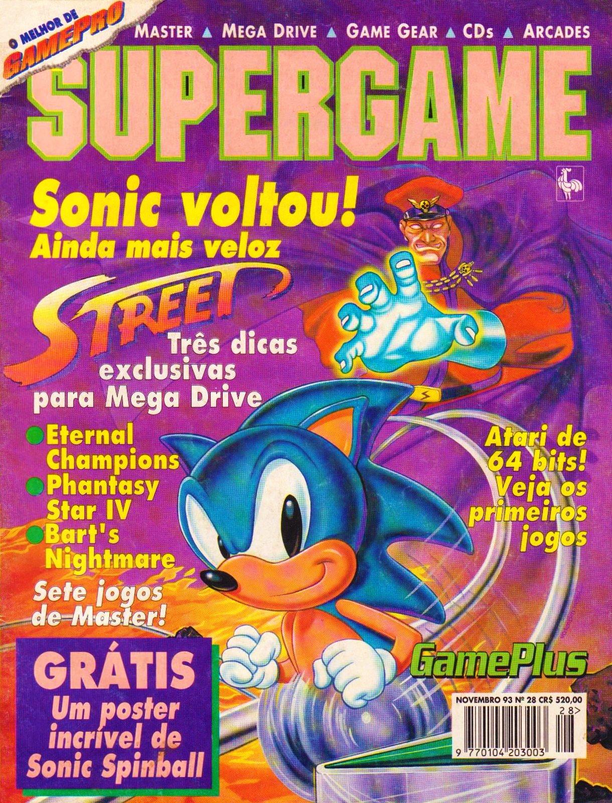 SuperGame 28 (November 1993)