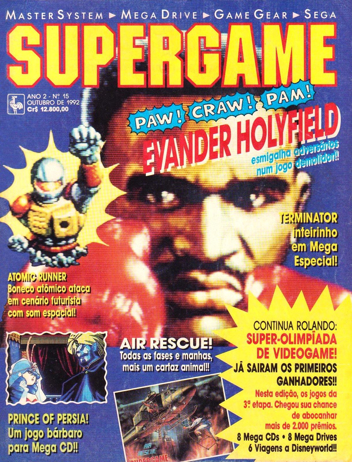 SuperGame 15 (October 1992)