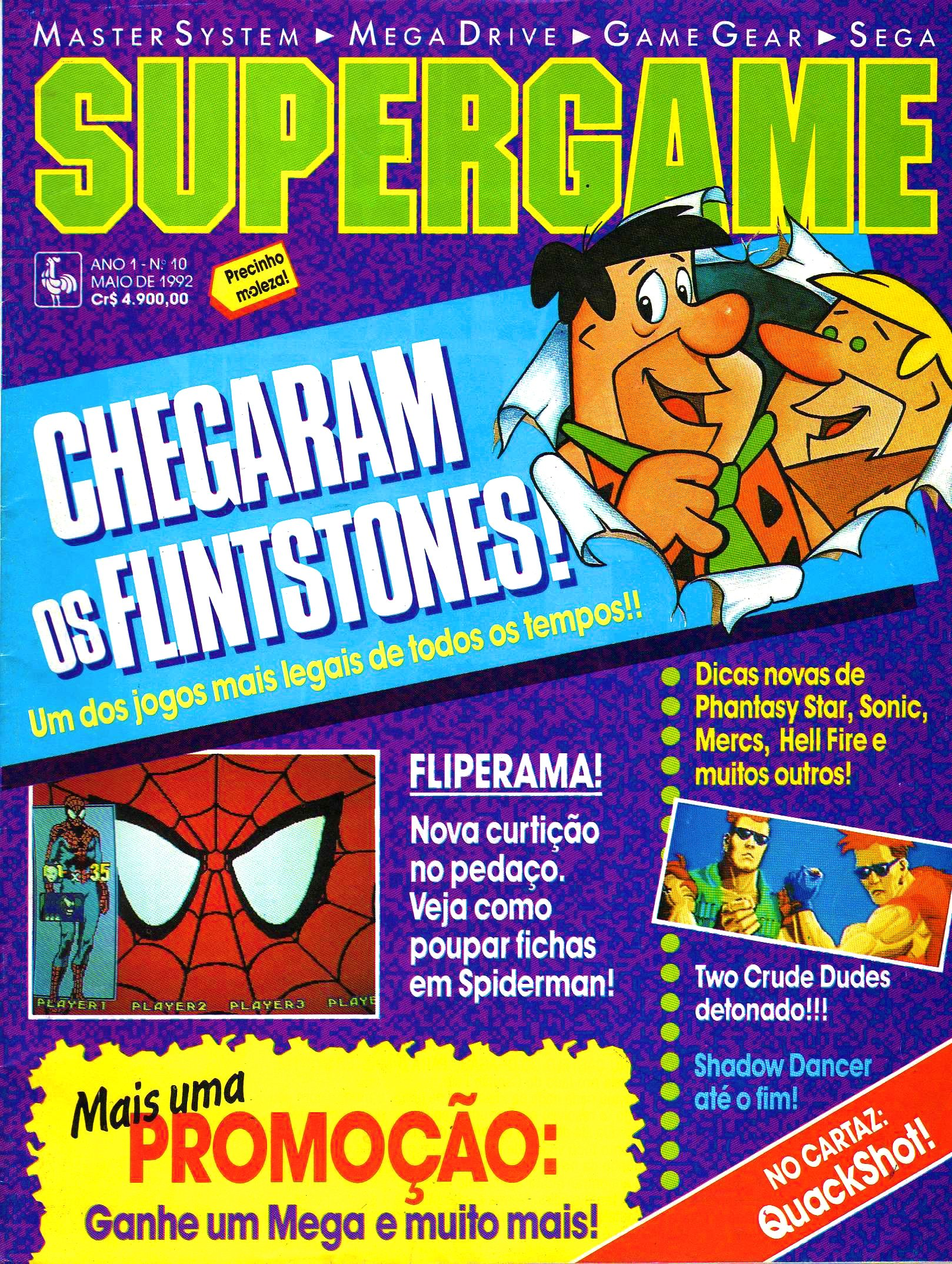 SuperGame 10 (May 1992)