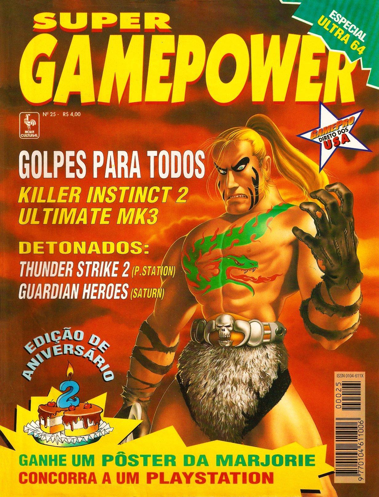 SuperGamePower Issue 025 (April 1996)