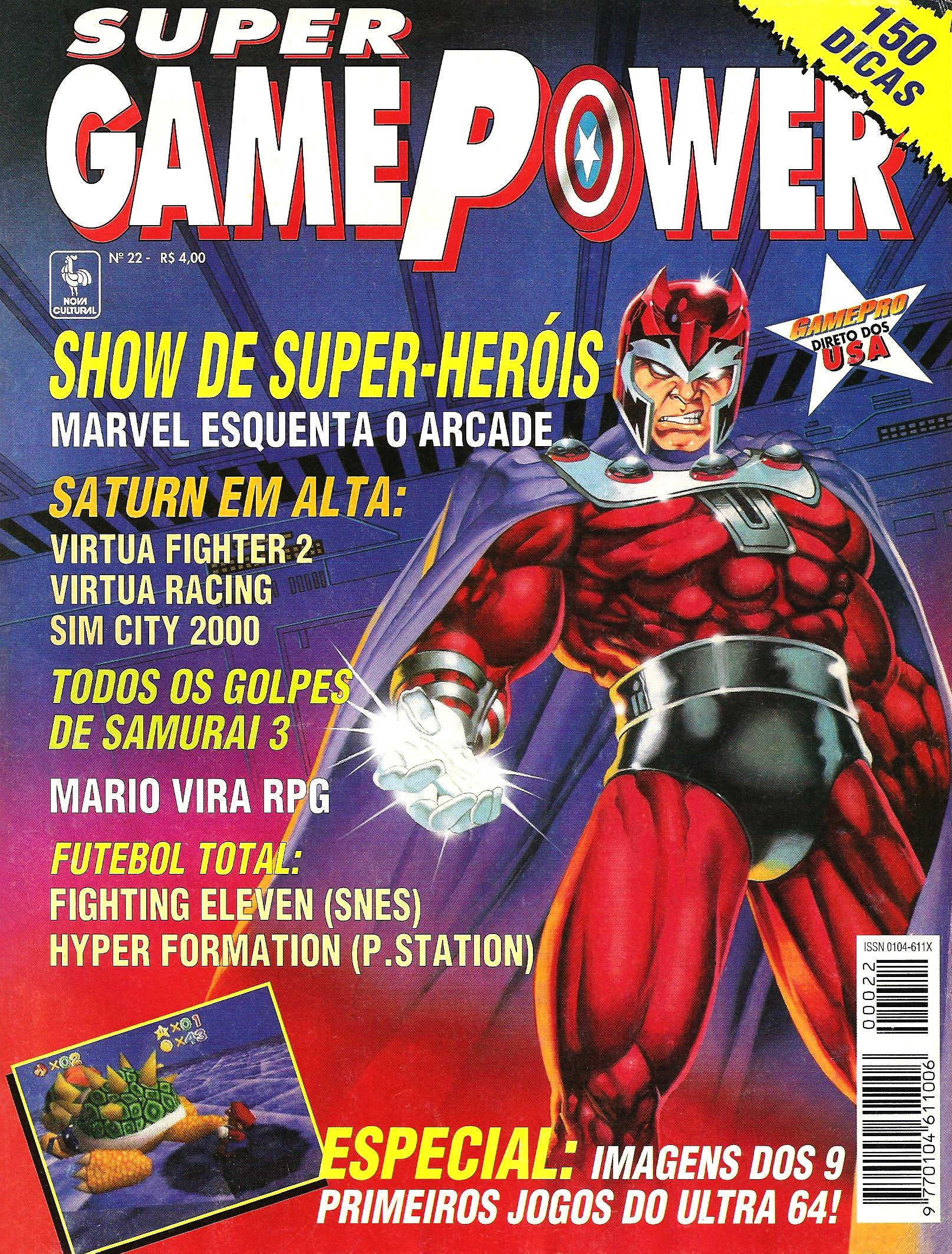SuperGamePower Issue 022 (January 1996)
