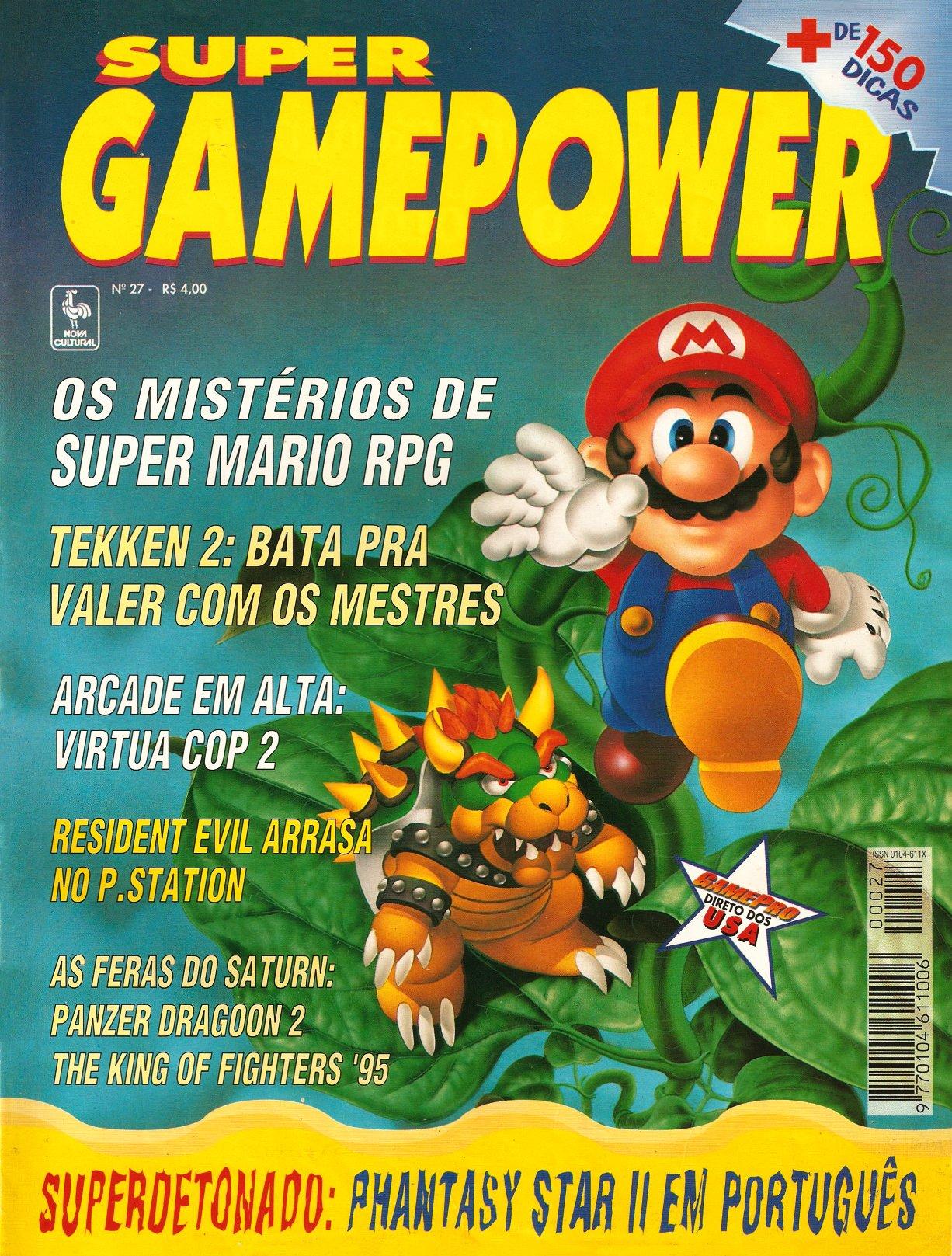 SuperGamePower Issue 027 (June 1996)