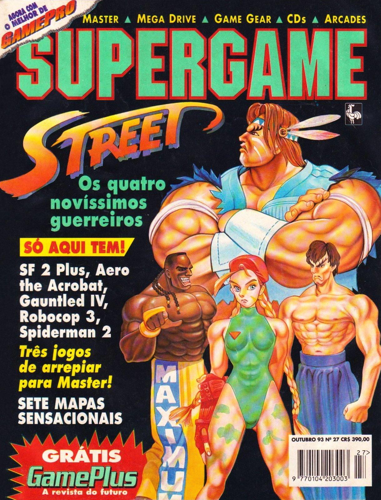 SuperGame 27 (October 1993)