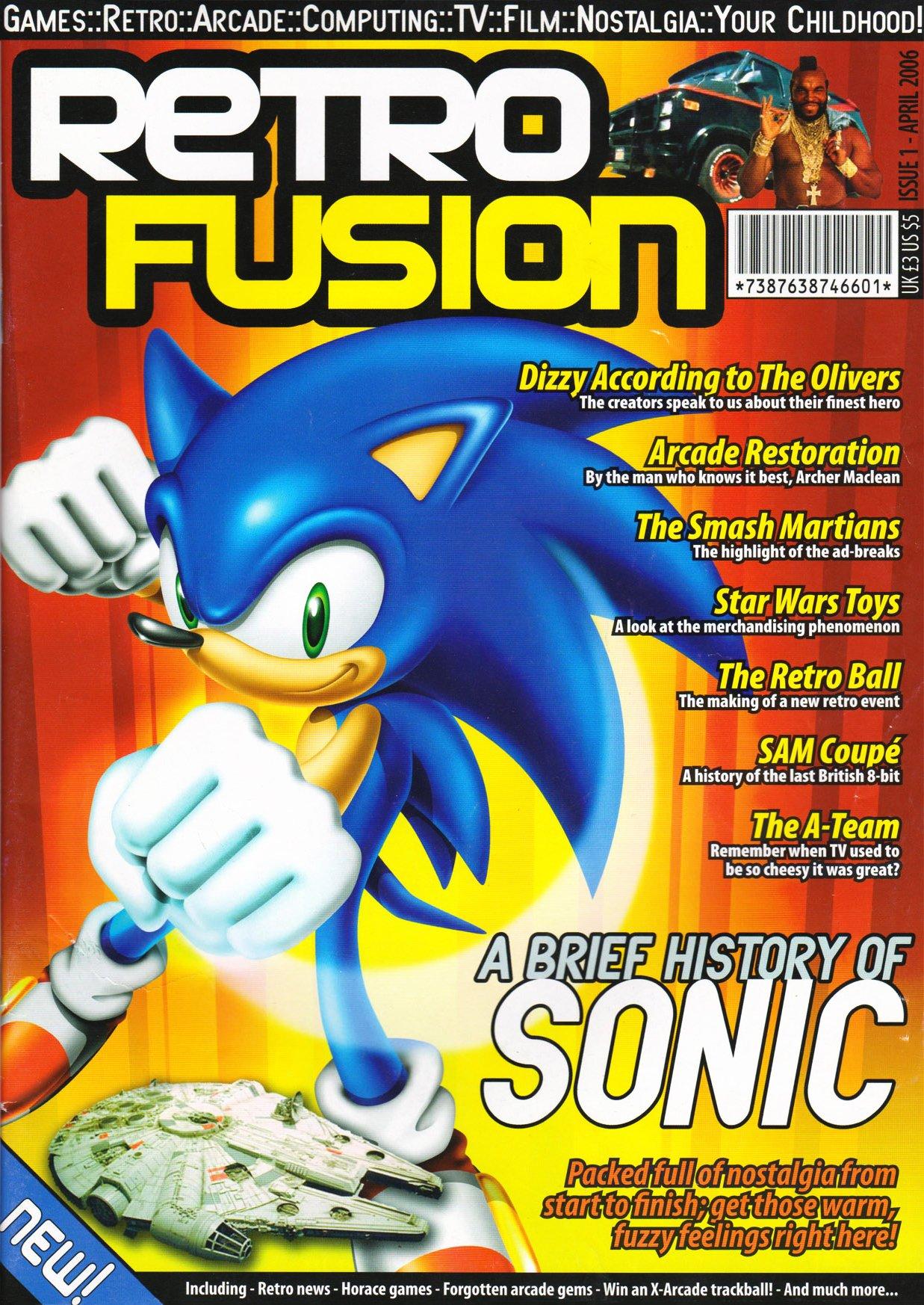 Retro Fusion 1 (April 2006)
