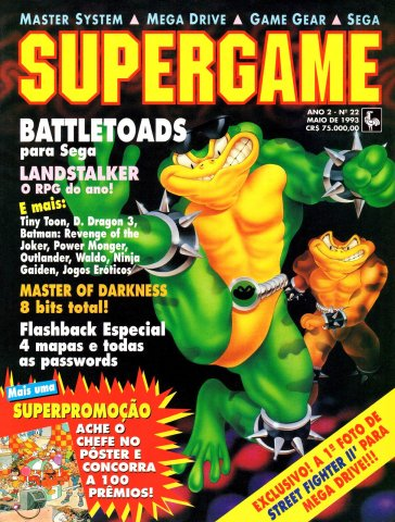 SuperGame 22 (May 1993)