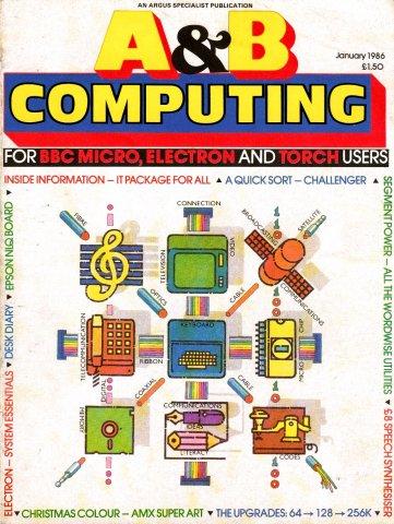 A&B Computing Vol.3 No.01 (January 1986)