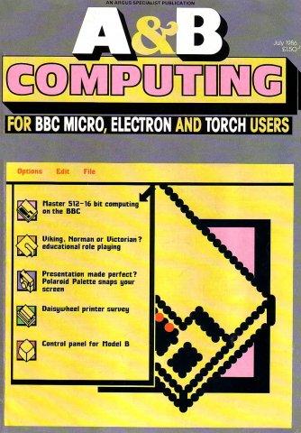 A&B Computing Vol.3 No.07 (July 1986)