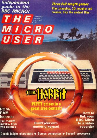The Micro User Vol.03 No.05 (July 1985)