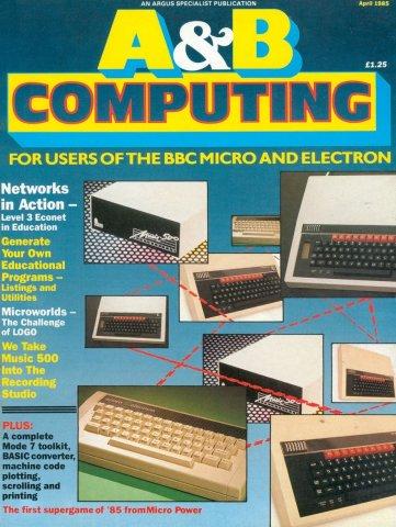 A&B Computing Vol.2 No.04 (April 1985)