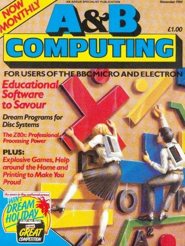 A&B Computing Vol.1 No.10 (November 1984)