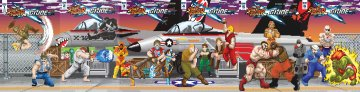 Street Fighter X G.I. JOE 001-006 (retailer incentive cover join)