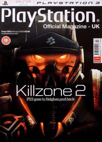 Playstation Official Magazine UK 028 (February 2009)
