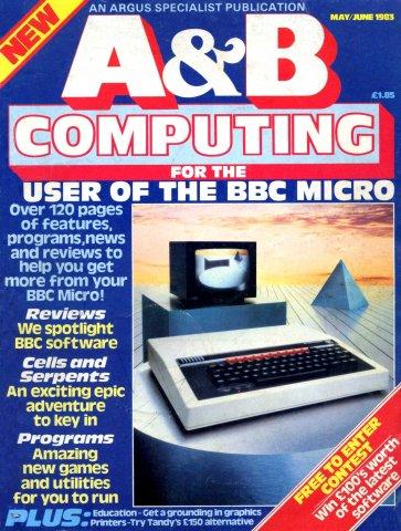 A&B Computing Vol.1 No.01 (May/June 1983)