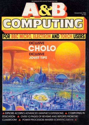 A&B Computing Vol.3 No.12 (December 1986)