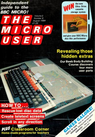 The Micro User Vol.02 No.06 (August 1984)