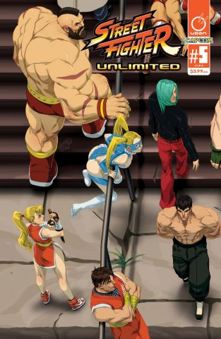 Street Fighter Unlimited 005 (April 2016) (cover B)