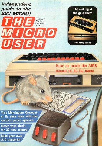 The Micro User Vol.03 No.02 (April 1985)