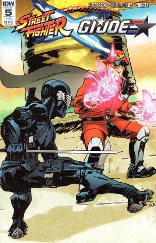 Street Fighter X G.I. JOE 005 (June 2016) (Adam Gorham subscription variant)