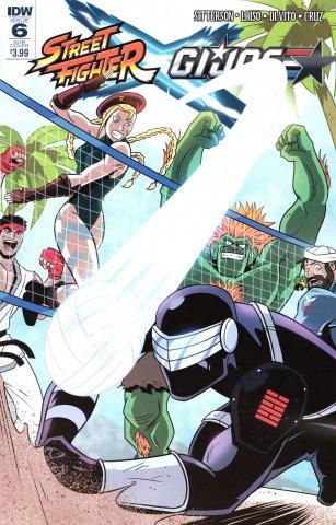 Street Fighter X G.I. JOE 006 (July 2016) (Derek Charm subscription variant)